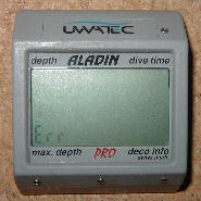 Resetting an aladin dive computer - Aladin pro dive computer ...